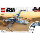 LEGO Resistance X-wing Starfighter Set 75297 Instructions