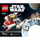 LEGO Resistance Y-wing Microfighter Set 75263 Instructions