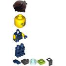 LEGO Rex Dangervest with Jetpack Minifigure