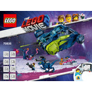 LEGO Rex's Rexplorer! Set 70835 Instructions