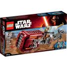 LEGO Rey's Speeder Set 75099 Packaging