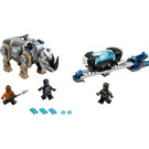 LEGO Rhino Face-Off by the Mine Set 76099