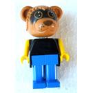 LEGO Ricky Raccoon Fabuland Minifigure