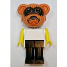 LEGO Ricky Raccoon Prisoner Uniform Fabuland Figure