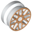 LEGO Rim Ø11.2 x 6.2 with Gold Laquer (93595 / 95986)