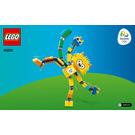 LEGO Rio 2016 Mascots Set 40225 Instructions