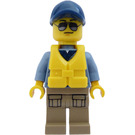 LEGO River Patrol Policeman Minifigure