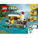 LEGO Riverside Houseboat Set 31093 Instructions