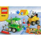 LEGO Road Construction Building Set 5930 Instructions