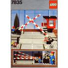 LEGO Road Crossing Set 7835 Instructions