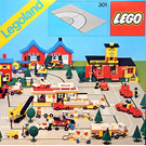 LEGO Road Plates, Curved Set 301-1