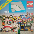 LEGO Road Plates, Curved Set 552