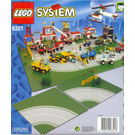 LEGO Road Plates, Curved Set 6321