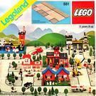 LEGO Road Plates, Junction Set 551