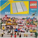 LEGO Road Plates, Straight Set 553