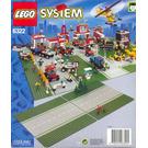 LEGO Road Plates, Straight Set 6322