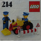 LEGO Road repair crew Set 214-1 Instructions
