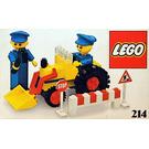 LEGO Road repair crew Set 214