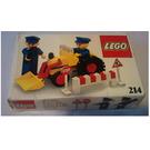 LEGO Road repair crew Set 214 Packaging