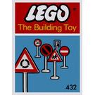 LEGO Road Signs Set 432-1