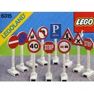 LEGO Road Signs Set 6315