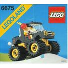LEGO Road & Trail 4 x 4 Set 6675