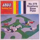 LEGO Roadway Base Plate 50X50 Set 078-1