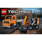 LEGO Roadwork Crew Set 42060 Instructions