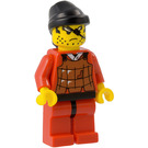 LEGO Robber with black rag hat Minifigure