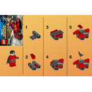 LEGO Robin and Redbird Cycle Set 30166 Instructions