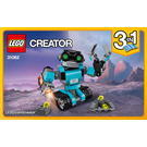 LEGO Robo Explorer Set 31062 Instructions