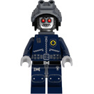 LEGO Robo SWAT with Goggles and Neck Bracket Minifigure