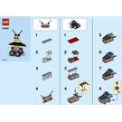 LEGO Robot/Vehicle free builds Set 30499 Instructions