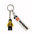 LEGO Rock Band Promo Key Chain Minifig 1 (852889)