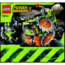 LEGO Rock Wrecker Set 8963 Instructions