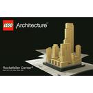 LEGO Rockefeller Center Set 21007 Instructions