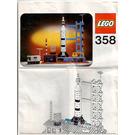 LEGO Rocket Base Set 358 Instructions