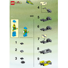 LEGO Rocket Racer Set 6491 Instructions