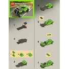 LEGO Rod Rider Set 8302 Instructions