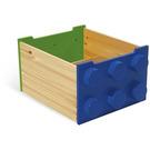 LEGO Rolling Storage Box (Green / Blue) (60031-2)