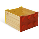 LEGO Rolling Storage Box - Red/Yellow (60030)