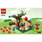 LEGO Romantic Valentine Picnic Set 40236 Instructions