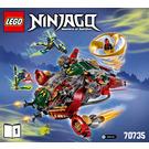 LEGO Ronin R.E.X Set 70735 Instructions