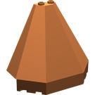 LEGO Roof Piece 4 x 8 x 6 Half Pyramid (6121)