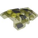 LEGO Roof Rock Tile 4 x 4 with Jagged Angles with Camouflage Decoration (64867 / 85048)