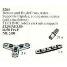 LEGO Rotors and Bush / Cross Axles Set 5264