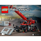 LEGO Rough Terrain Crane Set 42082 Instructions