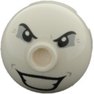 LEGO Round Brick 2 x 2 Dome Top with Joker's Face Decoration (73494)