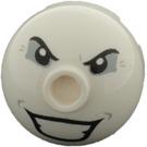 LEGO Rond Brique 2 x 2 Dome Haut avec Joker's Face Décoration (73494)