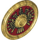 LEGO Round Shield with Decoration (10329 / 91884)